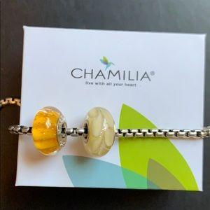 Chamilia Murano Beads